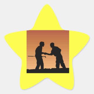 Mutual Respect Star Sticker