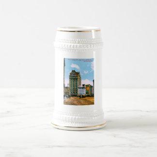 Mutual Saving Bank Bldg 18 Oz Beer Stein