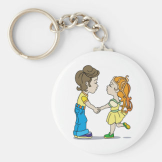 Mutual sympathy keychain