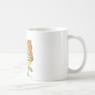 Mutual sympathy classic white coffee mug