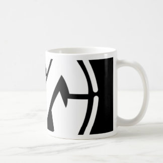 Mutualism pin classic white coffee mug