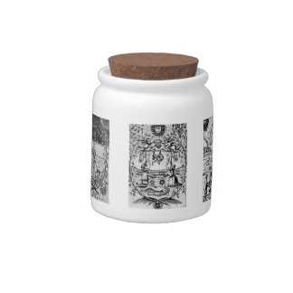 Mutus Liber Alchemy / Apothecary Jar #2 Candy Dishes