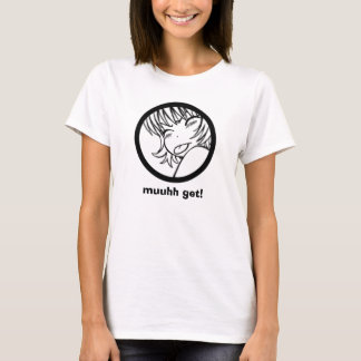 muuhh get! cute anime T-Shirt