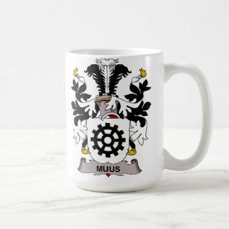 Muus Family Crest Coffee Mug