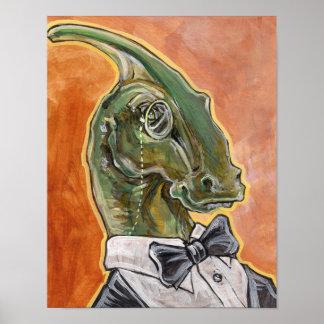 Muy dinosaurio póster