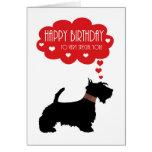 Muy especial usted con el escocés Terrier - Tarjetas