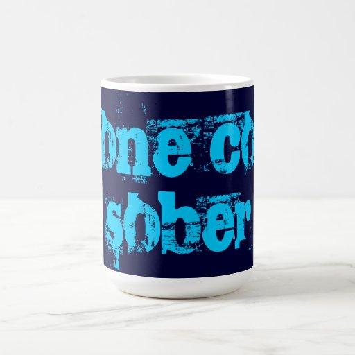 muy frío calme tazas de café