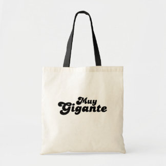 Muy Gigante Canvas Bags