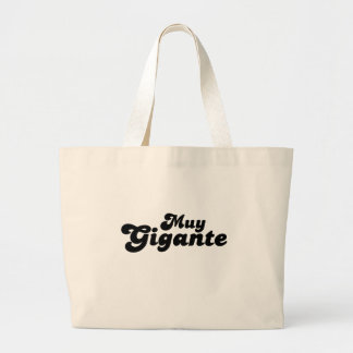 Muy Gigante Tote Bags