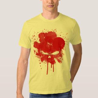 Muy salpicar la camiseta… playeras