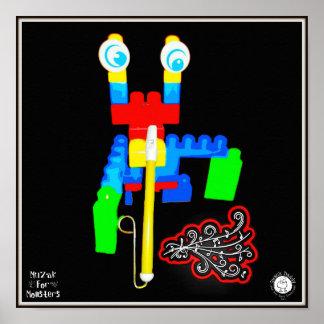 Muzak For Monsters: Slide Whistle or Trombone Poster