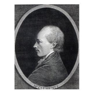 Muzio Clementi, 1803 Postcard