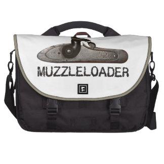 Muzzle loader breech & hammer, black powder rifle computer bag