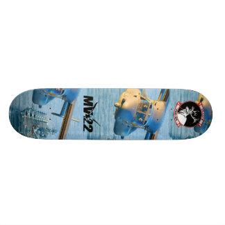 MV22 artwork skateboard