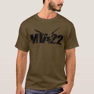 MV-22 camisa oscura - impresión agrietada