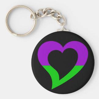 mv.ArtFire.com Logo Basic Round Button Keychain