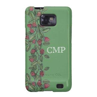 MV Raspberry Bramble Phone Case Galaxy SII Cover