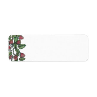MV Raspberry Bramble Return Address Label