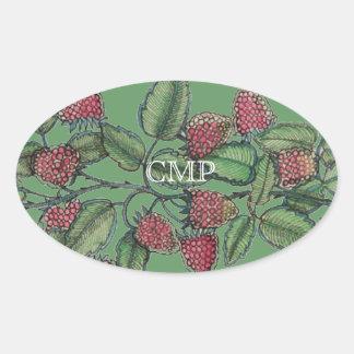 MV Raspberry Bramble Sticker