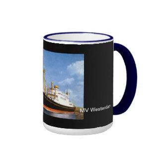 MV Westerdam, Holland America Line Ringer Coffee Mug