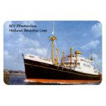 MV Westerdam, Holland America Line Rectangular Photo Magnet