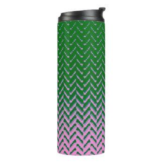 MVB Cheron two tone green and pink Design Tumbler