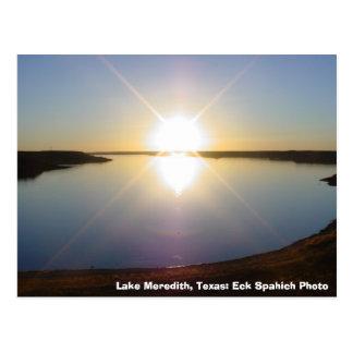 MVC-016S, lago Meredith, Tejas: Foto de Eck Postal