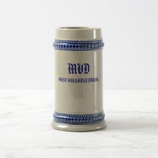 MVD MOST VALUABLE DRUNK BEER STEIN