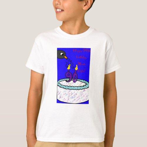 MVES 90th Birthday Kid T_Shirt