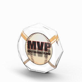 MVP BASEBALL ACRYLIC AWARD