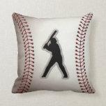 MVP Baseball Player - Cool Baseball Stitches Look Pillows