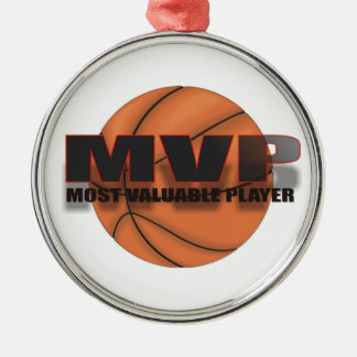 MVP BASKETBALL ORNAMENT