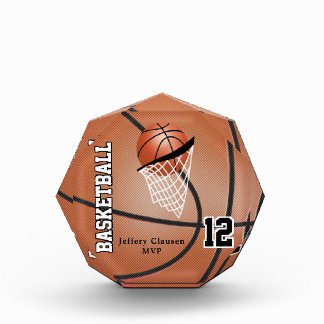MVP Basketball Player | DIY Text Award