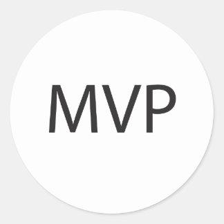 MVP CLASSIC ROUND STICKER