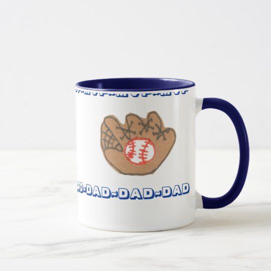 MVP DAD personalized Father's Day mug