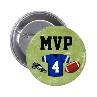 MVP de la fiesta del cumpleaños de los niños de Pin Redondo De 2 Pulgadas