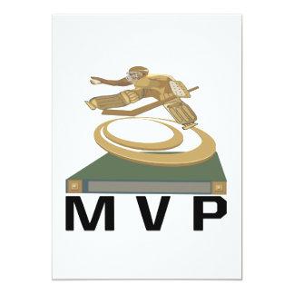 MVP 5X7 PAPER INVITATION CARD