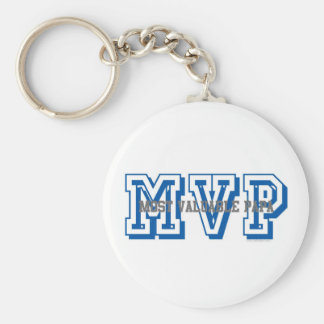 MVP-most valuable papa Keychain