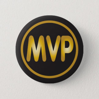 MVP most valuable player badge Pinback Button