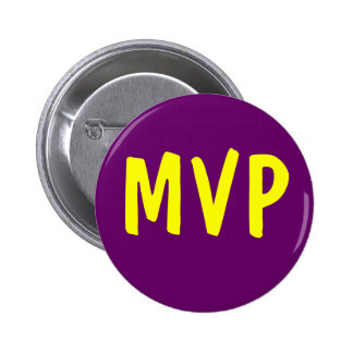 MVP - Most Valuable Player 2 Inch Round Button