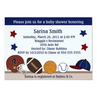 MVP/Sports Baby Shower/Birthday Party Invitations