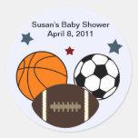 MVP/Sports Stickers/Labels/Envelope Seals Classic Round Sticker
