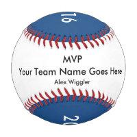 MVP Team Player Award Baseball for Kids Boys