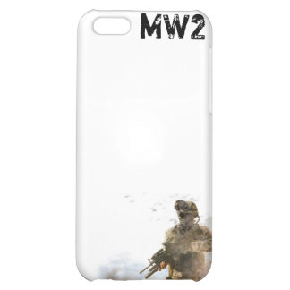 MW2 White I Phone 4 Cover 2 Case For iPhone 5C