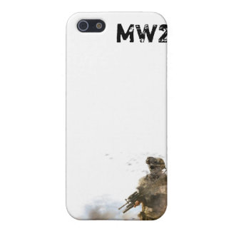 MW2 White I Phone 4 Cover 2 Covers For iPhone 5
