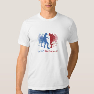 MW5 FF - front participant and back rules T-Shirt
