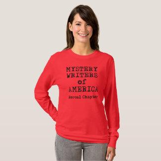 MWA t-shirt, women's long sleeve, w/back printing T-Shirt