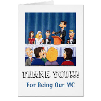 Mwedding MC Thanks Card