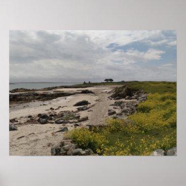 Mweenish Island Beach, Galway Poster Print