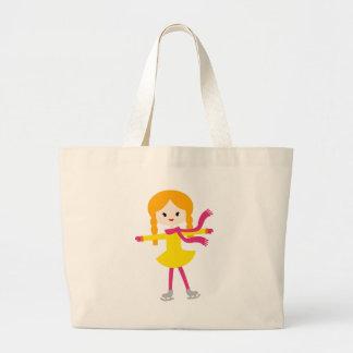 MWinterSkatersP10 Tote Bags